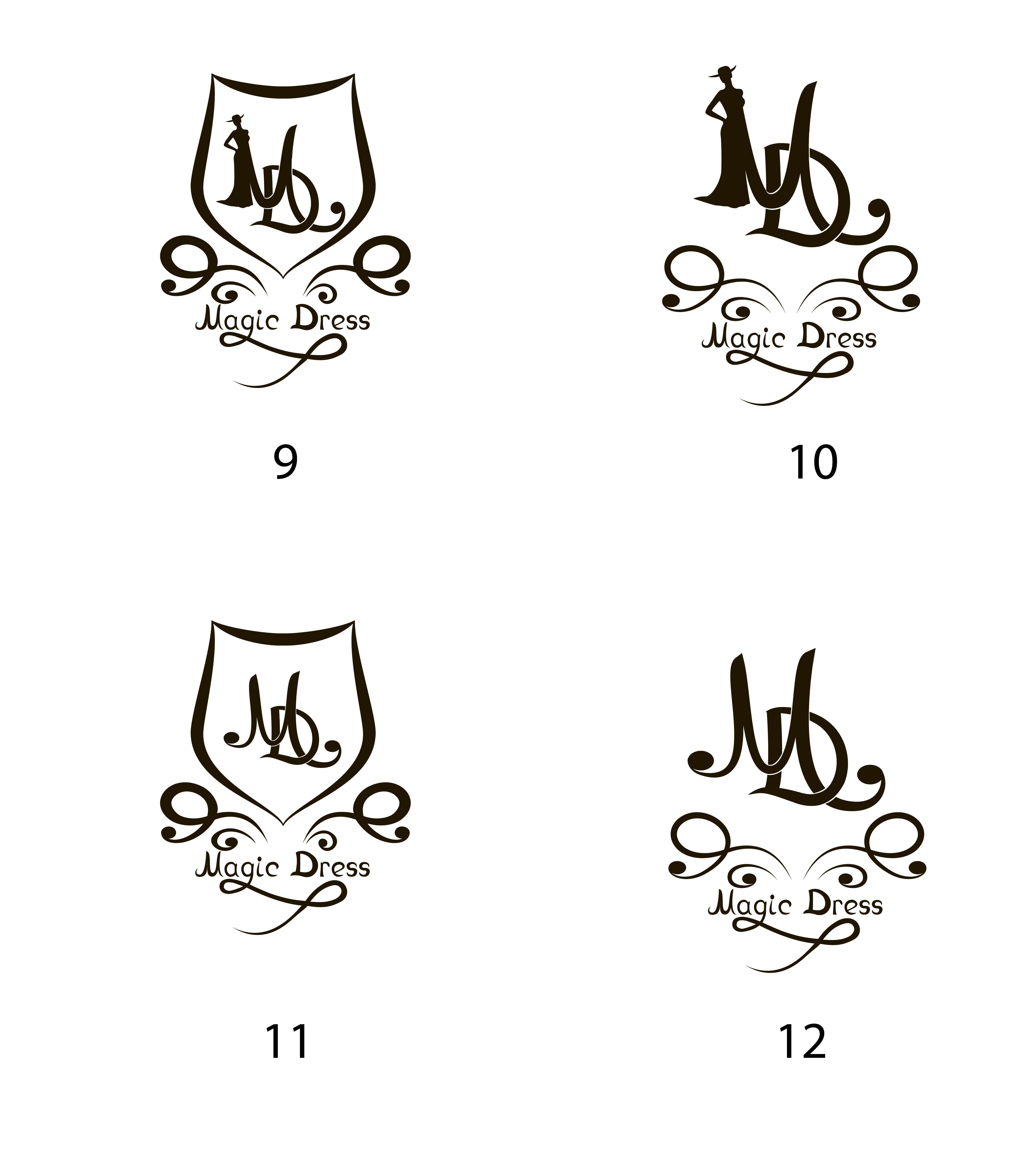 логотип для Magic Dress