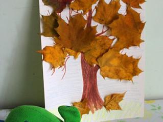 Осенняя поделка для ребенка 2 лет