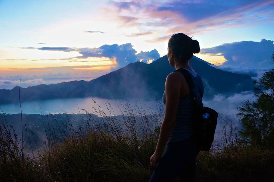 Self - Mt. Batur, Bali, Indonesia