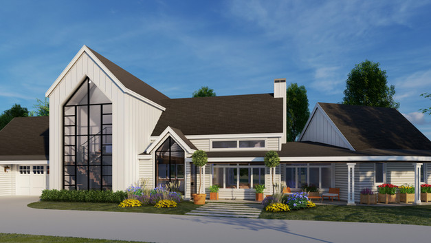 MODERN FARMHOUSE RESIDENCE