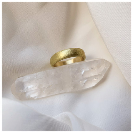 Ethical Wedding ring by eco jewellery Re