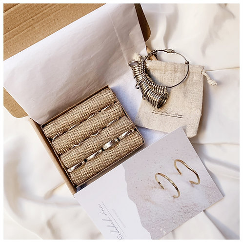 Wedding ring sample box