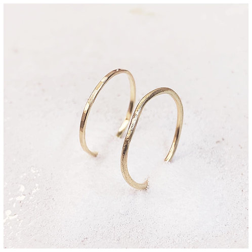 Organic and Textured rings