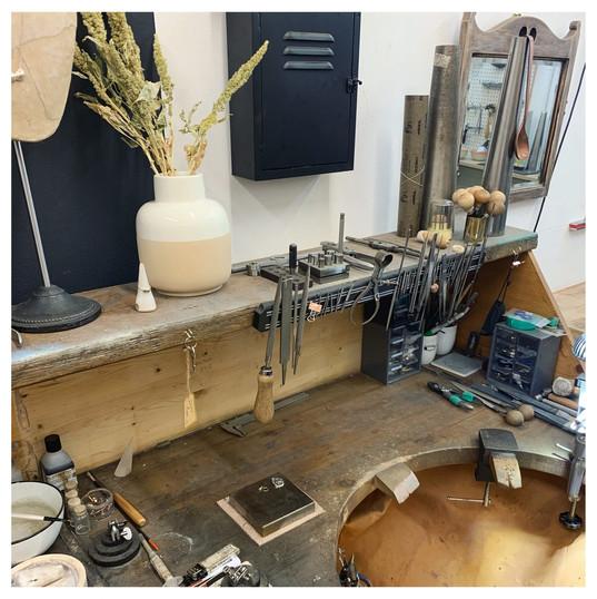 Jewellers workbench