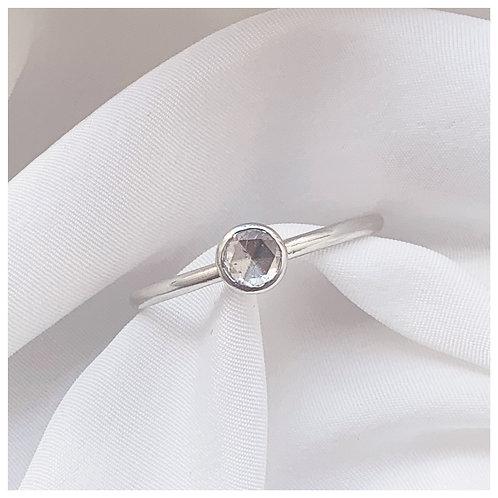 AMELIA - White Rose cut diamonds