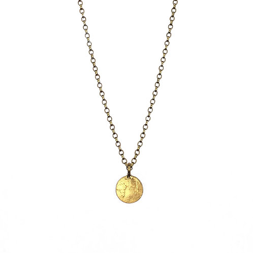 Small World Pendant (Globe necklace)