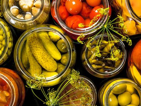 Zapomnij o jagodach goji! Jedz kiszonki! - przetwarzanie żywności