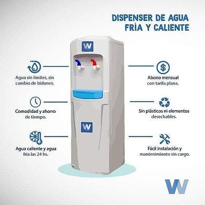 Dispenser Frío Calor con Sistema Continuo® (ABONO)