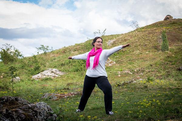 Kathriin Bendel Yoga mit Freude