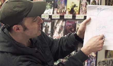 Jim Higgins writer comics film