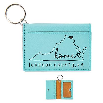 VA State - ID Holder Keychain