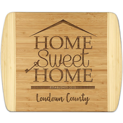 Home Sweet Home - Bamboo Cutting Board