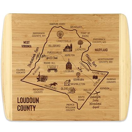 LoCo Map - Bamboo Cutting Board