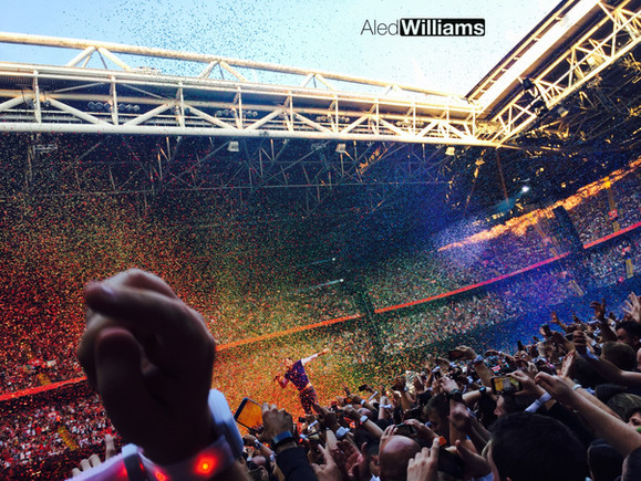 Coldplay at the Principality Stadium