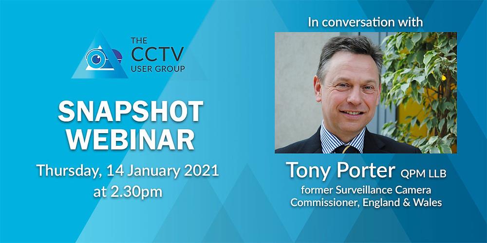Tony Porter Snapshot Webinar