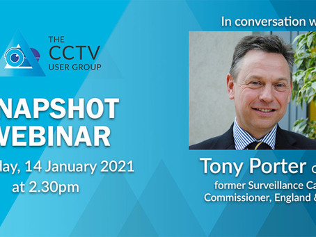 Where's my replacement, asks former Surveillance Camera Commissioner Tony Porter
