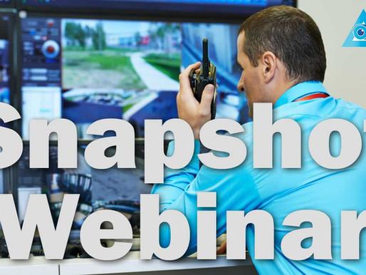 Snapshot Webinar: CCTV training