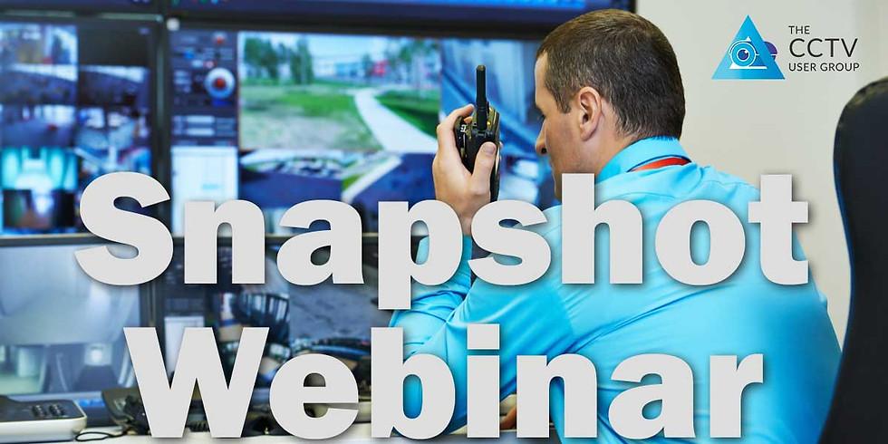 Snapshot Webinar: CCTV training update