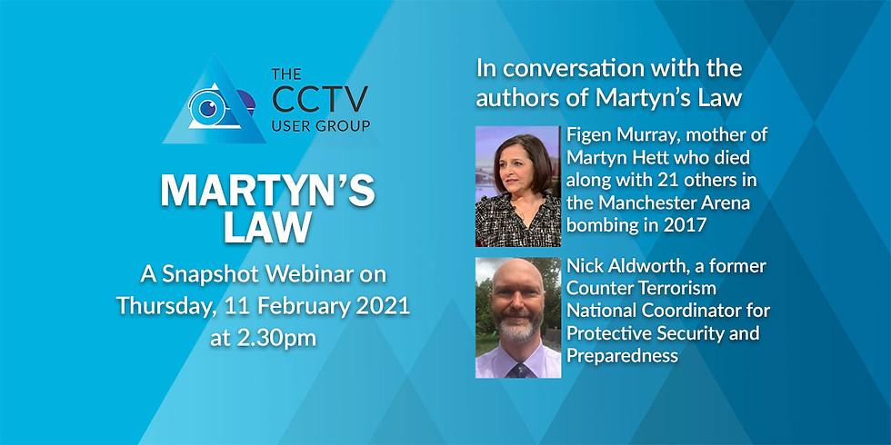 Snapshot Webinar 05: Martyn's Law
