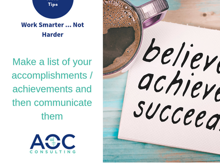 Communicate What You Do