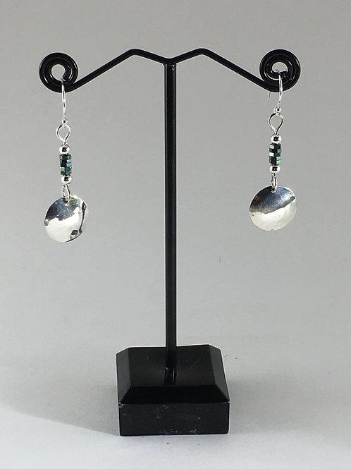 Silver green metallic