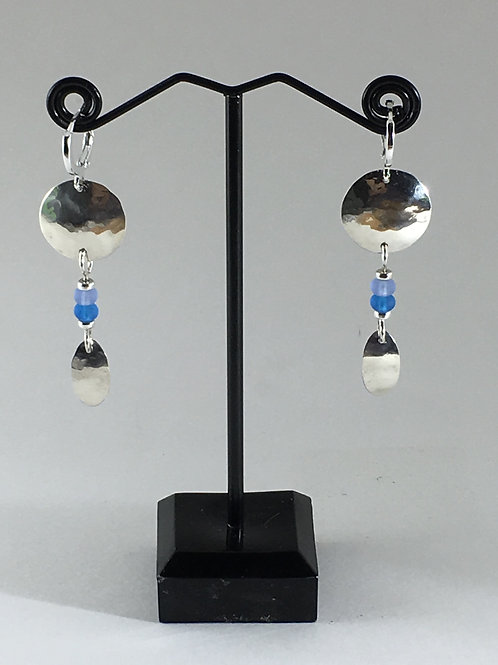 Round with Sea Glass Beads