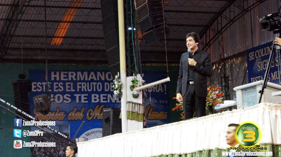 Dante Gebel en Bogotá