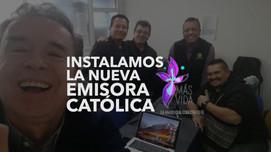 Instalamos una nueva Emisora Católica en Bogotá