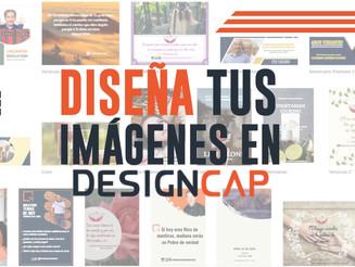 Diseña tus imágenes en Design Cap