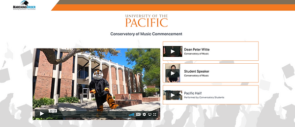 UOP Commencement