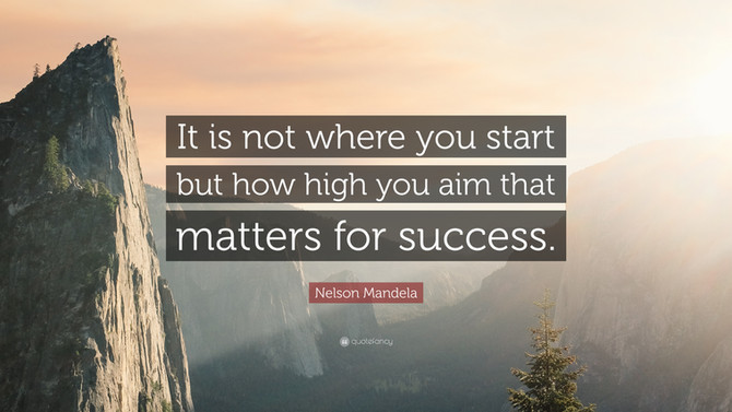 Success In Anything All Starts With YOU!