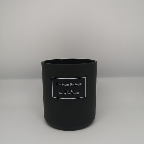 Matte Black Vogue Candle