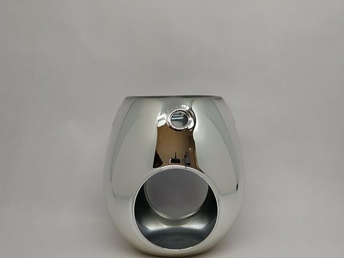 Silver Wax Melt Burner