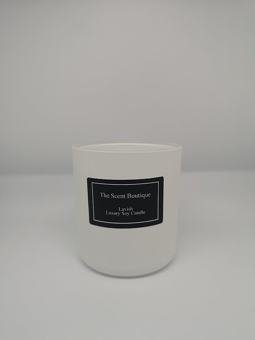 Matte White Vogue Candle