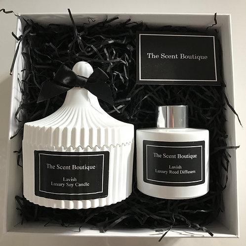 White Vintage Luxury Gift Set