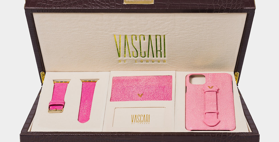 Pink Stingray Collection Box