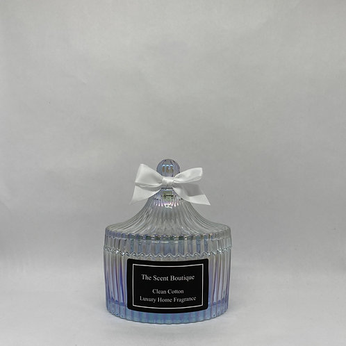 Clear Pearl Vintage Candle