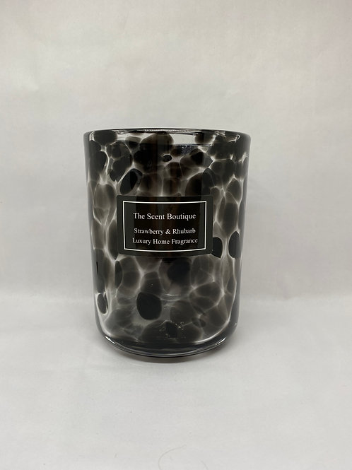 Extra large Cheetah Vogue Candle