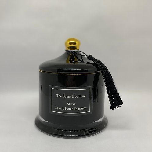 Black And Gold Victoria Candle
