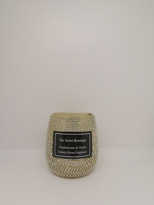 Glam Silver Luxury Candle