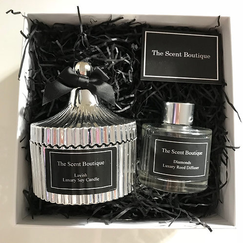 Silver Vintage Luxury Gift Set
