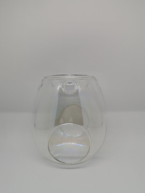 Clear Pearl Wax Melt Burner