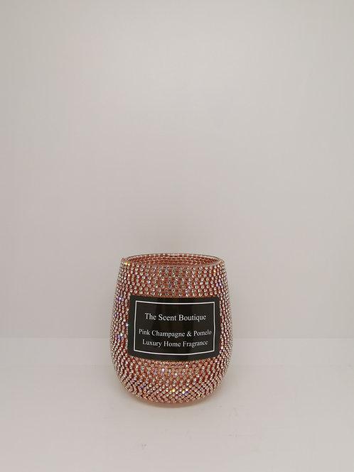 Glam Rose Gold Luxury Candle