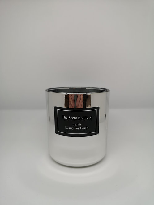 Chrome Vogue Candle