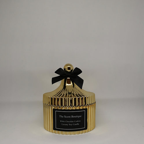 Gold Vintage Candle