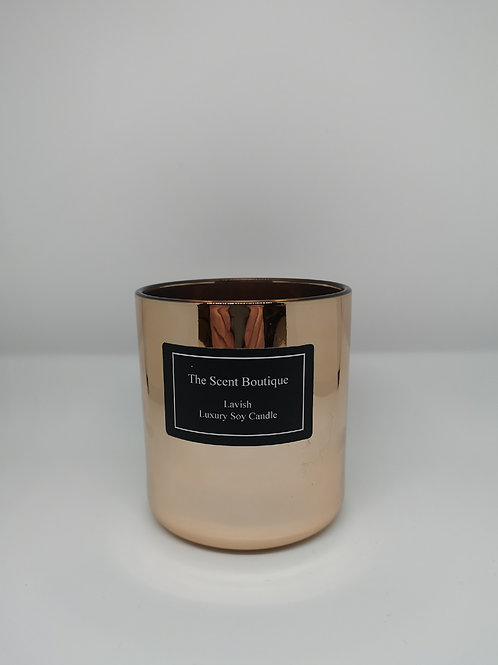 Rose Gold Vogue Candle