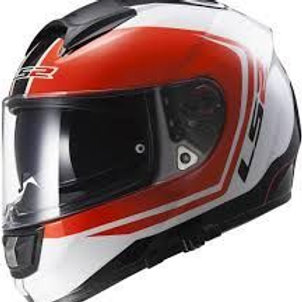 LS2 FF397 Vector Wake white/black/red
