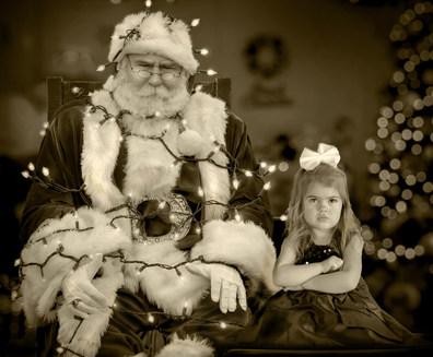photos with santa  professional phoograher