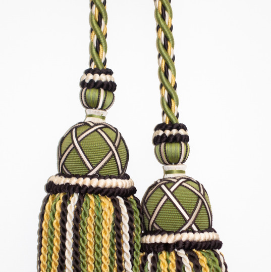 Large Double tassel tiebacks
