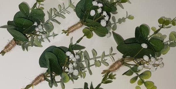 Eucalyptus buttonhole